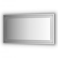 Зеркало в багетной раме со встроенным LED-светильником 33,5 W (140x75 см)