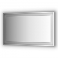Зеркало в багетной раме со встроенным LED-светильником 38 W (150x90 см)