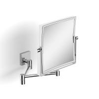 Зеркало поворотное косметическое квадратное увеличительное