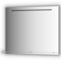 Зеркало с полочкой 90 см со встроенным LED-светильником 6,5 W (90x75 см)