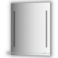 Зеркалосполочкой60 смс2-мявстроеннымиLED-светильниками11W(60x75см)