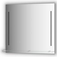 Зеркалосполочкой80смс2-мявстроеннымиLED-светильниками11W(80x75см)
