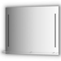 Зеркалосполочкой90смс2-мявстроеннымиLED-светильниками11W(90x75см)