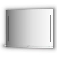 Зеркалосполочкой100смс2-мявстроеннымиLED-светильниками11W(100x75см)