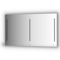 Зеркалосполочкой130смс3-мявстроеннымиLED-светильниками16,5W(130x75см)