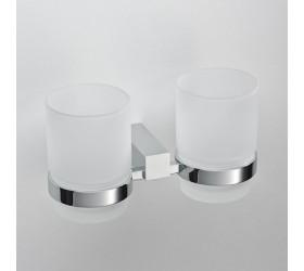 Стакан стеклянный двойной к стене