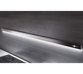 Рейлинг 600 мм + 4 крючка + встроенный ЛЕД-Светильник