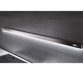 Рейлинг 1200 мм + 4 крючка + встроенный ЛЕД-Светильник