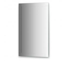 Зеркало с зеркальным обрамлением  (60х100 см, серебро)