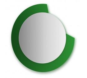 Зеркало  (диаметр 80 см, зеленый)