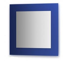 Зеркало  (70х70 см, синий)