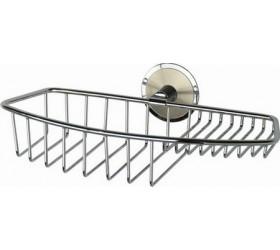 Полочка-решетка металлическая, хром