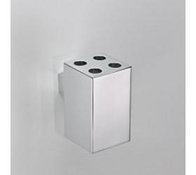 """Держатель зубных щеток """"квадрат"""" на 4 щетки к стене"""
