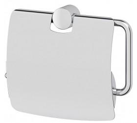 Держатель туалетной бумаги с крышкой - компонент (хром)